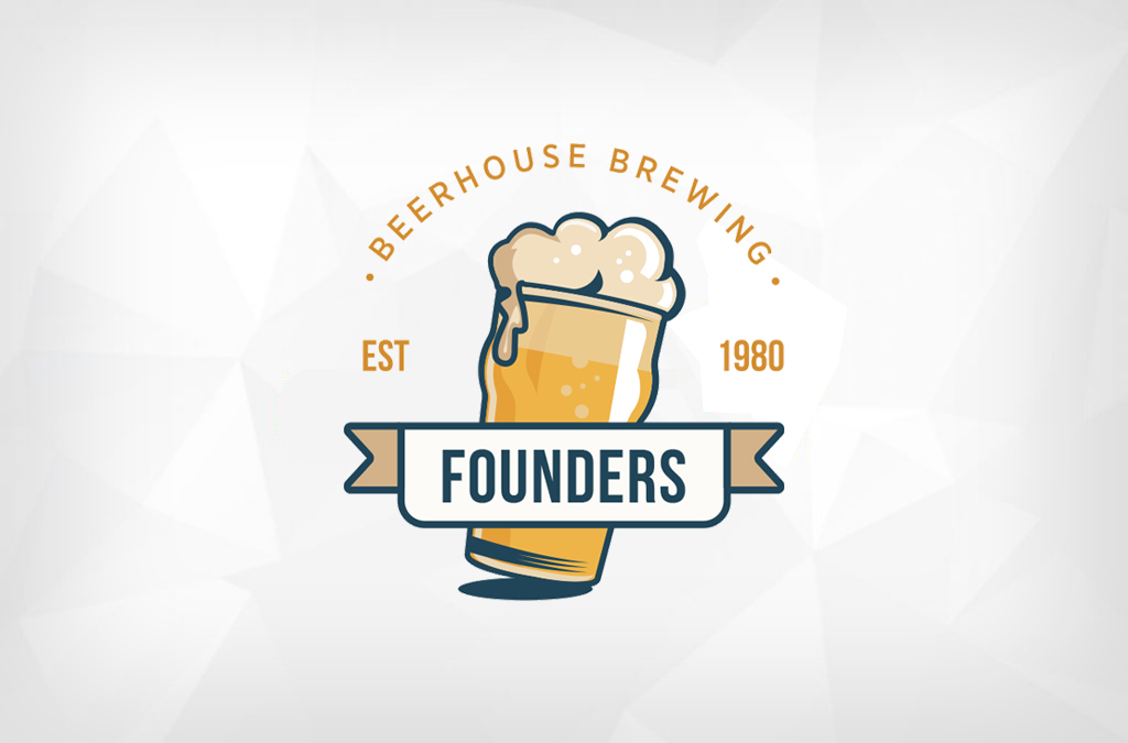 Founders Beerhouse Brewing Logo