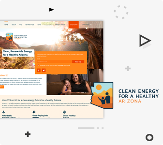 Clean Energy for a Healthy Arizona Website
