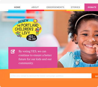 Renew Portland Children's Levy Website